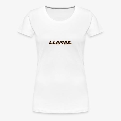 Llamaz YT Channel Merch - Women's Premium T-Shirt