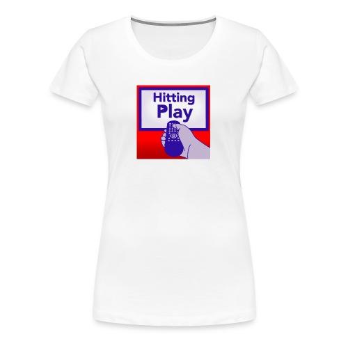 Hitting Play Logo - Women's Premium T-Shirt