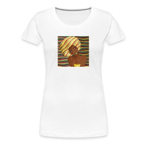Natural Chocolate Girl - Women's Premium T-Shirt