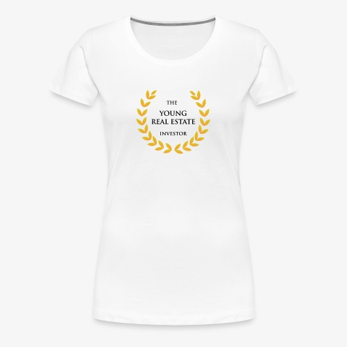 The Young Real Estate Investor - Women's Premium T-Shirt