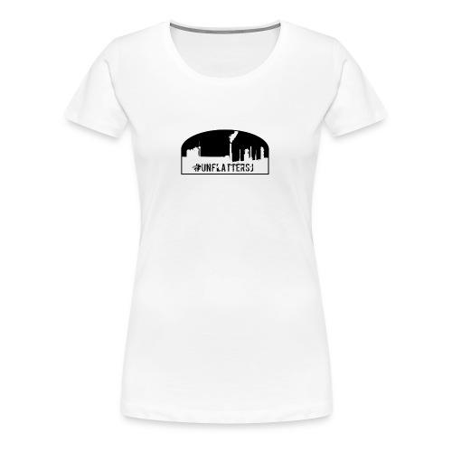 Unflatter Hashtag logo - Women's Premium T-Shirt