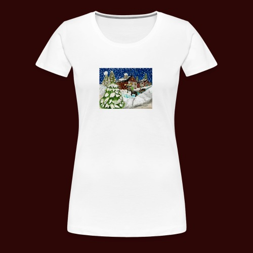 Old Christmas - Women's Premium T-Shirt