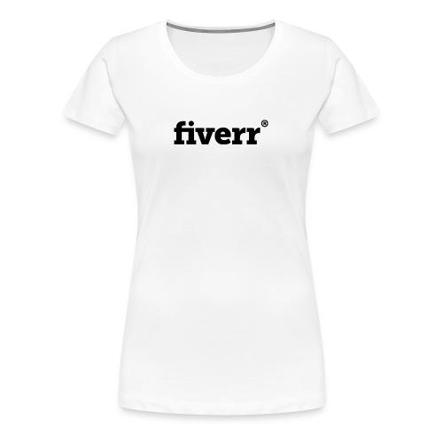 fiverr logo - Women's Premium T-Shirt