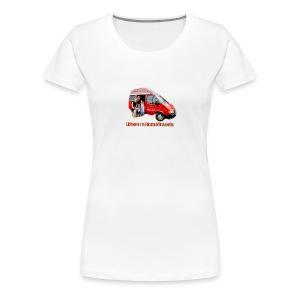 big red - Women's Premium T-Shirt
