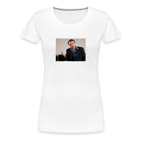 Justin Stoney as Leonardo - Women's Premium T-Shirt