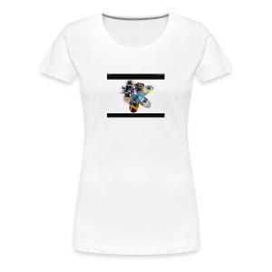Skate board - Women's Premium T-Shirt