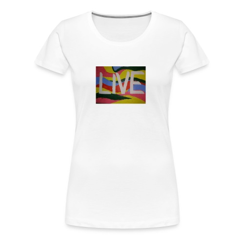 @filtre3 - Be Live - Design can be customized - Women's Premium T-Shirt