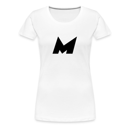 Official Black Mystic Logo (M Letter Logo) - Women's Premium T-Shirt