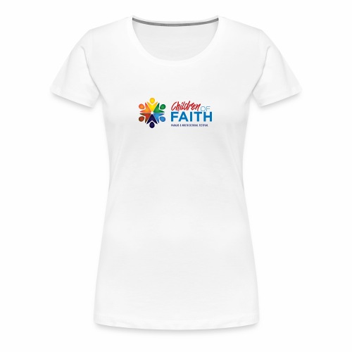 Children of Faith Logo - Women's Premium T-Shirt