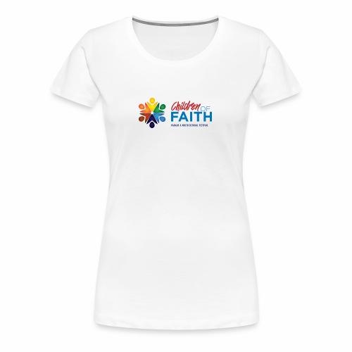 Children of Faith Logo - Women's Premium T-Shirt