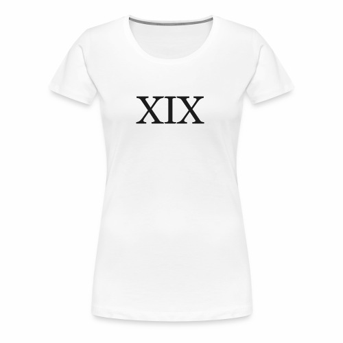 XIX Entertainment - Women's Premium T-Shirt