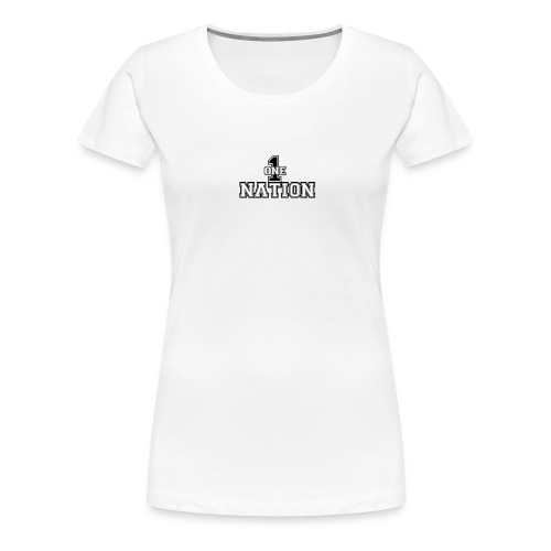 Number One Nation - Women's Premium T-Shirt