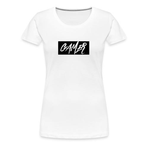 Gamer Logo Shirt - Women's Premium T-Shirt