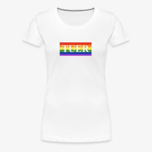 Tuer Pride - Women's Premium T-Shirt