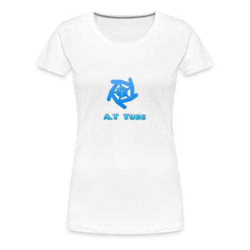 A.T Tube (White) - Women's Premium T-Shirt