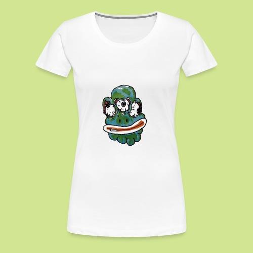 Earth Face - Women's Premium T-Shirt