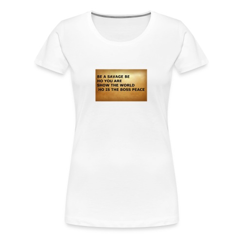tshirt by bryan - Women's Premium T-Shirt
