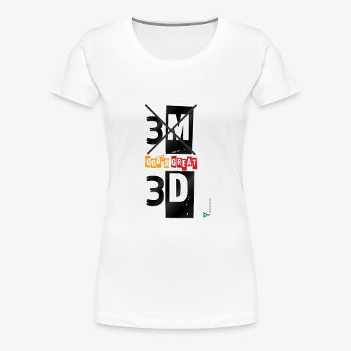 My great GOD - Women's Premium T-Shirt