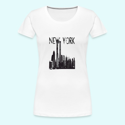 NEW_YORK - Women's Premium T-Shirt