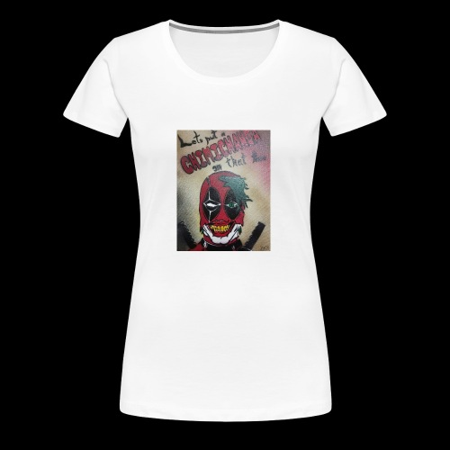 The Clown with a Mouth - Women's Premium T-Shirt