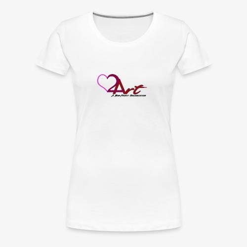 Heart2Art - Women's Premium T-Shirt