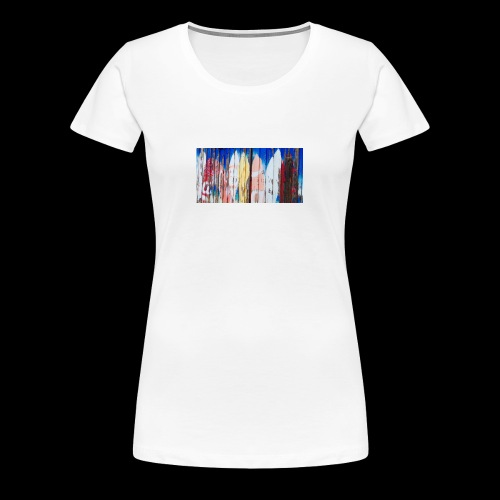 surfing dreams - Women's Premium T-Shirt