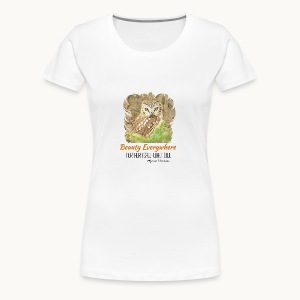 Beauty Everywhere Carolyn Sandstrom - Women's Premium T-Shirt