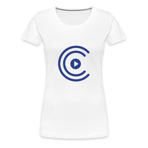 CreatiCrew Logo (Blue) - Women's Premium T-Shirt