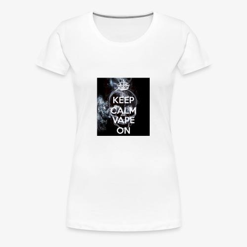 vaping - Women's Premium T-Shirt