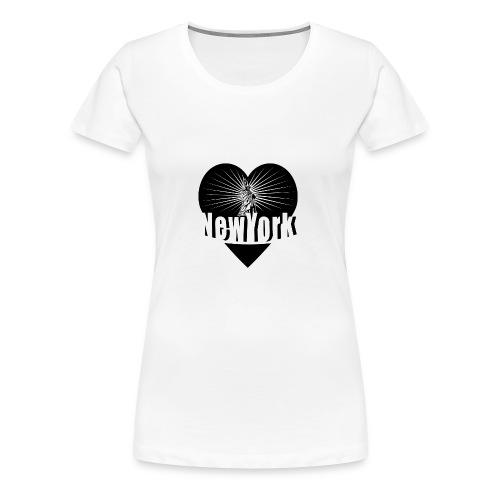 New York in Love - Women's Premium T-Shirt