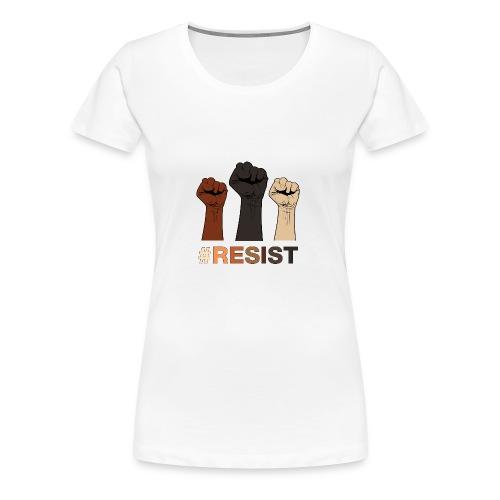 Resist / Racial Justice - Women's Premium T-Shirt