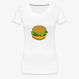 Comic Burger - Women's Premium T-Shirt