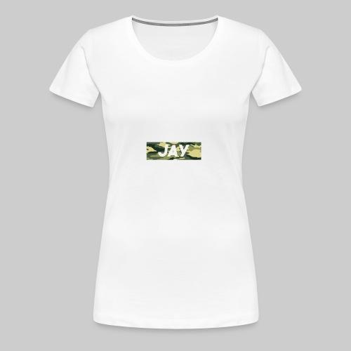 Camo Jay - Women's Premium T-Shirt