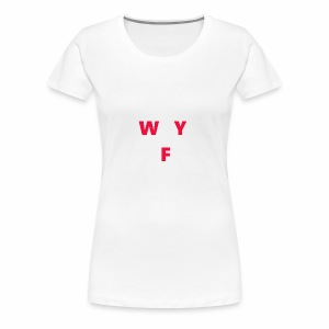 WAY OFF logo - Women's Premium T-Shirt