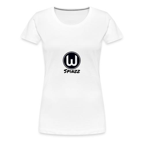 Spinzz Logo - Women's Premium T-Shirt
