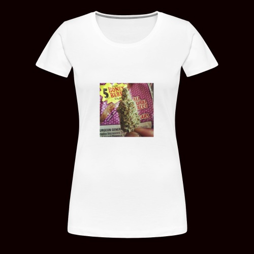 weed the best - Women's Premium T-Shirt