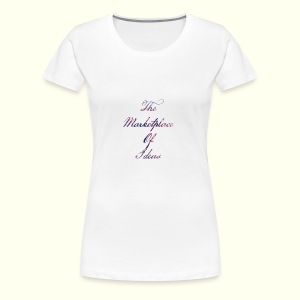 The Marketplace Of Ideas Word Logo - Women's Premium T-Shirt