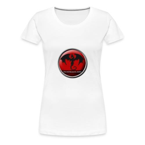 Techdragon logo - Women's Premium T-Shirt