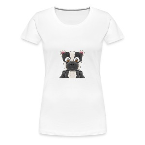 Badgerr Design! - Women's Premium T-Shirt