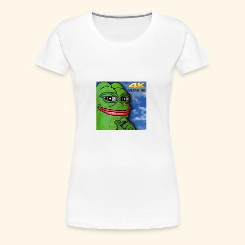 HD MEME FROG - Women's Premium T-Shirt