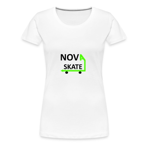 NAVA_SKATE_TSHIRT_333 - Women's Premium T-Shirt