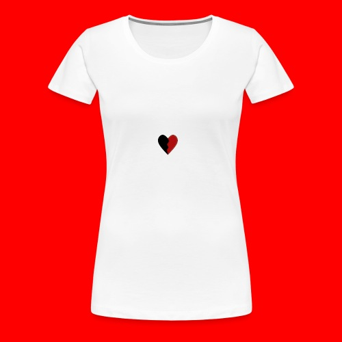 lil hearts (2lit clothing) - Women's Premium T-Shirt