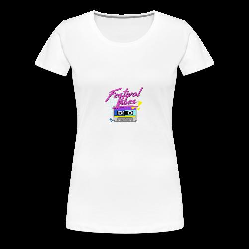 festival vibes - Women's Premium T-Shirt