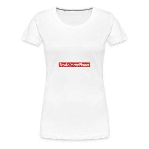 TroAnimatePlanet Supreme - Women's Premium T-Shirt