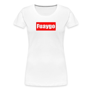 Fuaygo box logo - Women's Premium T-Shirt