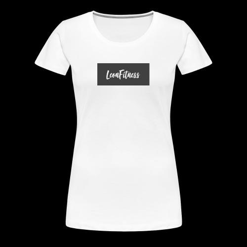 LeonFitness Box Logo - Women's Premium T-Shirt