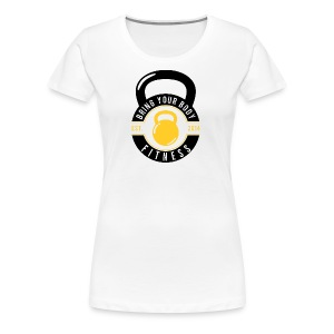 Bring your Body white Background - Women's Premium T-Shirt