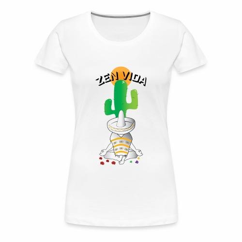 Zen Vida - Women's Premium T-Shirt