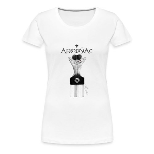 tshirtAfroArtD2 copy - Women's Premium T-Shirt
