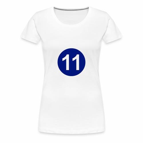 Blue 11 Crew - Women's Premium T-Shirt